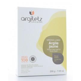 ARGILETZ MASQUE & BAIN ARGILE JAUNE 200 g