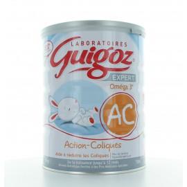 GUIGOZ EXPERT OMEGA 3 ACTION COLIQUES BEBE NAISSANCE A 12 MOIS 800 g