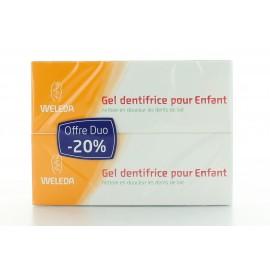 Gel Dentifrice pour Enfant Weleda 2X75 ml