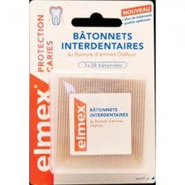 Bâtonnets Interdentaires Elmex 114 pièces