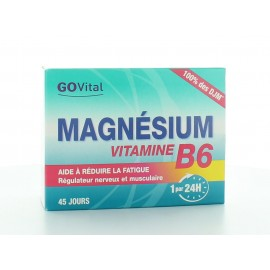 Govital Magnésium / Vitamine B6 45 comprimés