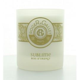 ROGER & GALLET BOUGIE PARFUMEE SUBLIME BOIS D'ORANGE 220 g