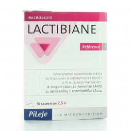 PILEJE LACTIBIANE REFERENCE 10 SACHETS 2.5 g