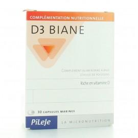 PILEJE D3 BIANE 30 CAPSULES