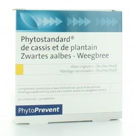 PILEJE PHYTOSTANDARD DE CASSIS ET DE PLANTIN 30 COMPRIMES