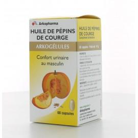 HUILE DE PEPINS DE COURGE 60 CAPSULES ARKOGELULES