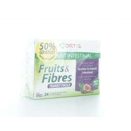 Fruits&Fibres Lot de 2X24 cubes à mâcher