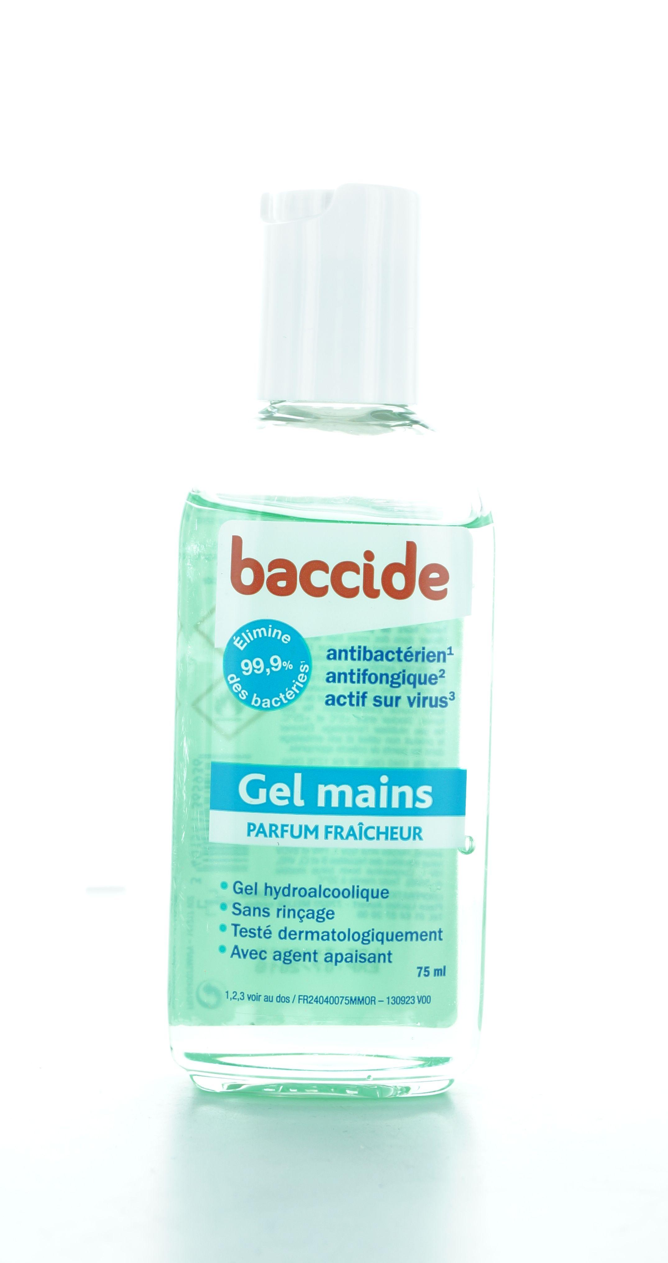 Baccide Gel Mains Hydroalcoolique 1 L Pas Cher Premiers Soins