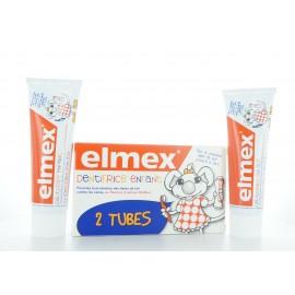 Elmex Dentifrice Enfant 2X50 ml