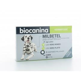 Milbetel Biocanina Vermifuge Chien 2 comprimés