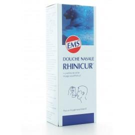 Douche Nasale Rhinicur + Sel de Rinçage Rhinicur X4