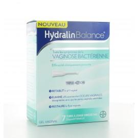 HydralinBalance 7 tubes à usage unique