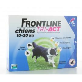 Frontline Tri-Act Chiens 10-20 kg 6x2ml