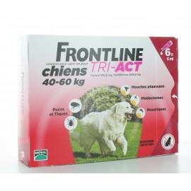Frontline Tri-Act Chiens 40-60 kg 6 X 6 ml