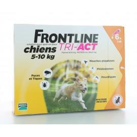 Frontline Tri-Act Chiens 5-10 kg 6 X 1 ml