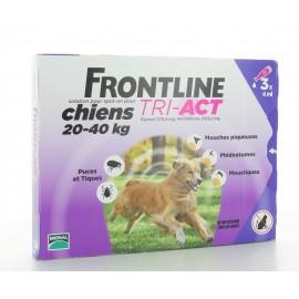 Frontline Tri-Act Chiens 20-40 kg 3 X 4ml