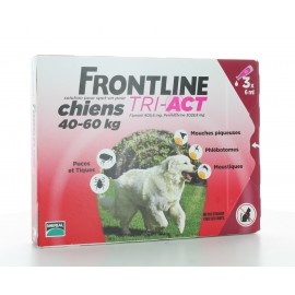 Frontline Tri-Act Chiens 40-60 kg 3 X 6ml