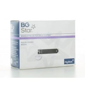 BGStar Bandelettes de test de glycémie X100