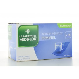 Infusion Mediflor Sommeil n°14 24 sachets