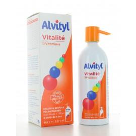 Alvityl Solution Buvable Multivitaminée 150 ml