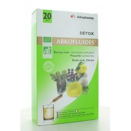 Arkofluides Détox Arkopharma 20 ampoules