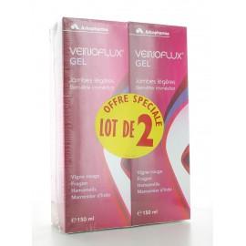 Veinoflux Gel Jambes Légères Arkopharma 2X150 ml