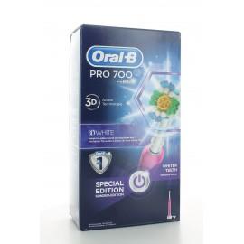 Brosse à Dents Electrique Oral-B Pro 700 3D White