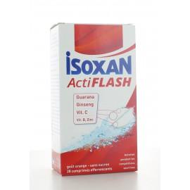 Isoxan ActiFlash Orange sans sucre 28 comprimés