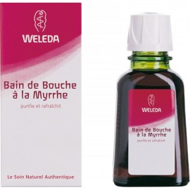 Bain de Bouche à la Myrrhe Weleda 50 ml