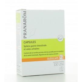 Capsules Sphère Gastro-Intestinale et Voies Urinaires Pranarôm X30