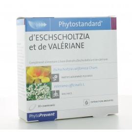 Phytostandard Eschscholtzia-Valériane PhytoPrevent 30 comprimés