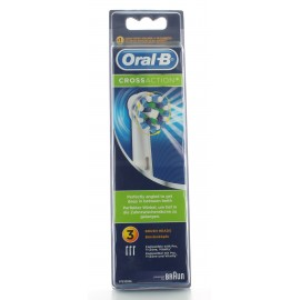 Brossettes CrossAction Oral-B X3