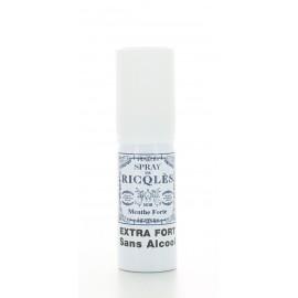 Spray de Ricqlès Menthe Forte sans alcool 15 ml
