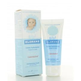 Crème Hydratante Visage et Corps Klorane Bébé 40 ml