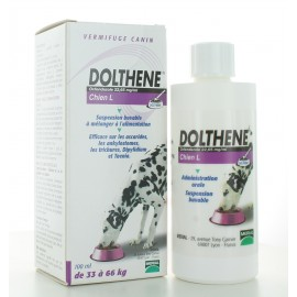 Vermifuge Dolthene Chien L 33-66kg 100 ml